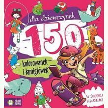 150 kolorowanek dla dziewczynek