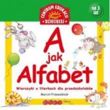 A jak alfabet. Wierszyki o literkach dla przedszkolaków