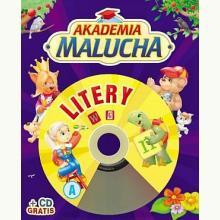 Akademia malucha. Litery + CD