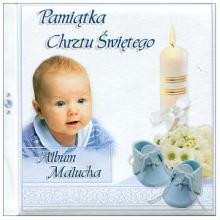 Album Malucha - Pamiątka Chrztu Świętego (chłopiec)