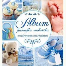 Album Pamiątka Maluszka (niebieski)