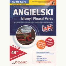Angielski. Idiomy i Phrasal Verbs MP3. Audio kurs-książka + 4CD