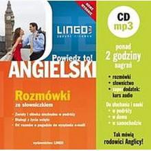 Angielski. Powiedz to! Rozmówki ze słowniczkiem + CD MP3