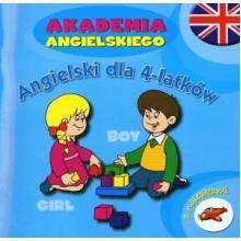 Angielski dla 4-latków. Akademia angielskiego