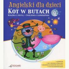 Angielski dla dzieci. Kot w butach (książka + CD)