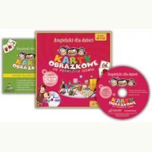 Angielski dla dzieci. Karty obrazkowe+poradnik+CD