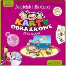Angielski dla dzieci. Czas wolny (karty obrazkowe + poradnik +..