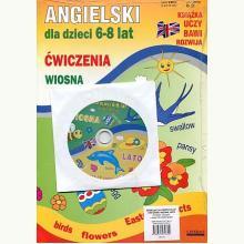 Angielski dla dzieci 6-8 lat. Wiosna, lato. 2x Ćw. +CD
