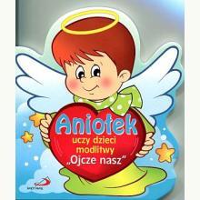 Aniołek uczy dzieci modlitwy