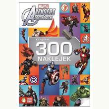 Avengers Zjednoczeni. Książka + 300 naklejek