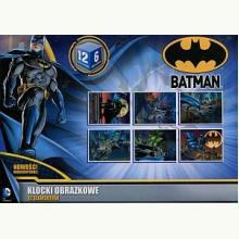 Batman. Klocki obrazkowe 12 elementów
