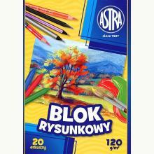 Blok rysunkowy A4/20 kartek