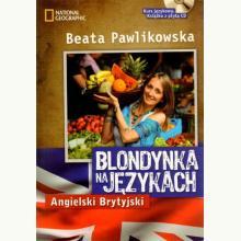 Blondynka na językach. Angielski Brytyjski + CD MP3
