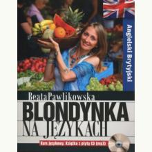 Blondynka na językach. Angielski Brytyjski + CD-mp3