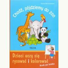 Chodź, pójdziemy do zoo. Dzieci uczą się rysować i kolorować