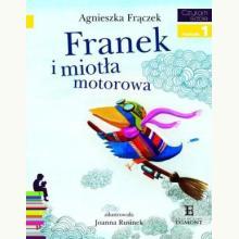 Czytam sobie - Franek i miotła motorowa. Poziom 1 Składam słowa