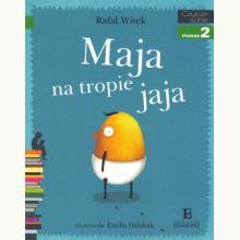 Czytam sobie - Maja na tropie jaja - Poziom 2 Składam zdania