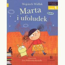 Czytam sobie - Marta i ufoludek - Poziom 1 Składam słowa