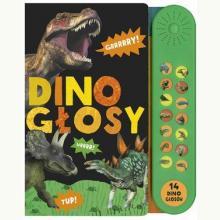 Dino głosy - książka dźwiękowa