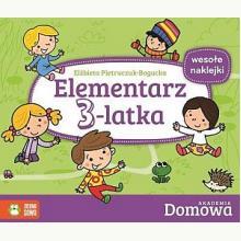Domowa Akademia. Elementarz 3-latka