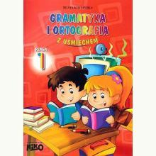 Gramatyka i ortografia z uśmiechem klasa 1
