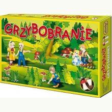 Grzybobranie - gra planszowa (4+)