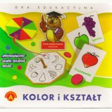 Kolor i kształt - gra edukacyjna