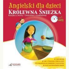 Angielski dla dzieci. Królewna Śnieżka - (książka + CD)
