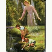 Magnesik - Anioł Stróż z dziećmi