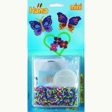 Motyle - układanka z koralików mini