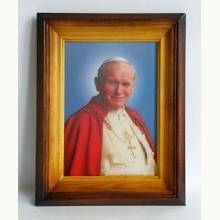 Obraz ze Świętym Janem Pawłem II 3D
