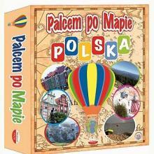 Palcem po mapie - Polska - Gra edukacyjna (7+)