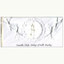 Pamiątka Chrztu Św. od Matki Chrzestnej - kartka okolicznościowa