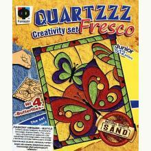Piaskowy obrazek z kwarcu - Motyle