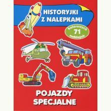 Pojazdy specjalne. Historyjki z nalepkami