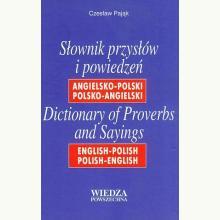 Słownik przysłów i powiedzeń ang-pol, pol-ang