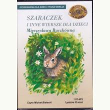 Szaraczek i inne wiersze. Książka audio CD MP3