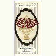 Z okazji Jubileuszu Małżeństwa - kartka okolicznościowa