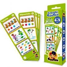 Zagadki CzuCzu dla dzieci 4-5 lat