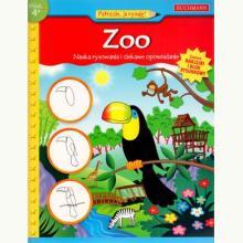 Nauka rysowania i ciekawe opowiadanie. Zoo