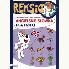 Reksio. Angielskie słówka dla dzieci