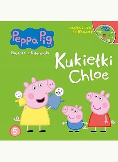świnka Peppa Kukiełki Chloe Dvd