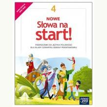 J.Polski SP 4 Nowe Słowa na start! Podręcznik