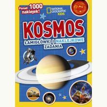 National Geographic Kids. Kosmos. Łamigłówki i naklejkowe zadania