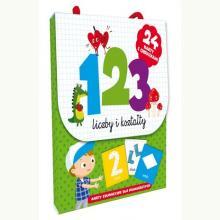 123 Liczby i kształty. Karty edukacyjne dla najmłodszych