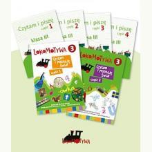 Lokomotywa 3 - Komplet podręczników dla klasy 3