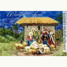Karnet Boże Narodzenie + koperta