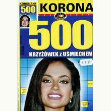 500 Krzyżówek z uśmiechem