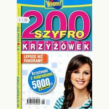 200 szyfro krzyżówek
